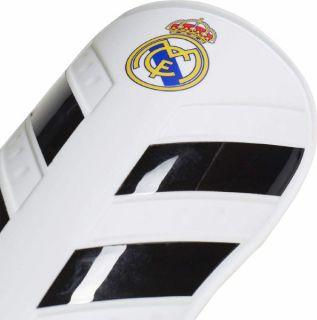 Espinilleras de Fútbol Adidas RM Pro Lite Blanco Talla M