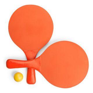 Palas De Playa Con Pelota 144804 Color Naranja