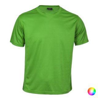 Camiseta Deportiva de Manga Corta Unisex 145247 Color Verde Talla XL