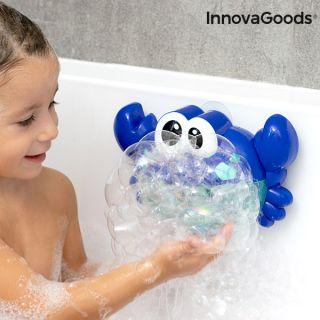 Cangrejo Musical con Pompas de Jabón para Baño Crabbly InnovaGoods