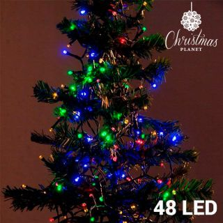 Luces de Navidad Multicolor Christmas Planet (48 LED)