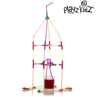 Juego De Pajitas Para Beber Playz Kidz (194 Piezas)