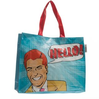 Bolso Comic Bubble Fashinalizer con Cierre Inmatado PVC 40X33X11 CM Wow!