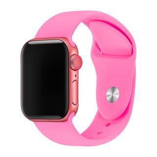 Apple Watch Correa Deportiva Fluoroelastómero Coerreas de Reloj de Pulsera Silicona Color Rosa