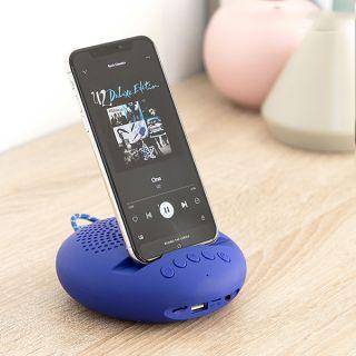Altavoz Inalámbrico Con Soporte Para Dispositivos Sonodock Innovagoods Azul