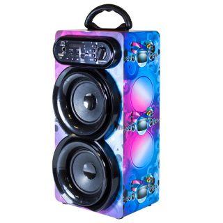 Altavoz Karaoke con Microfono Altavoz Bluetooth 30W Portátil Lector USB/ TF Card con Control Remoto