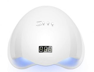 Lámpara de Uñas Secador Manicura 48W LED UV Profesional Maquillaje Uñas con Temporizador