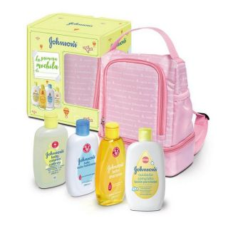 Set de Baño Para Bebé Baby Johnson's (4 pcs)