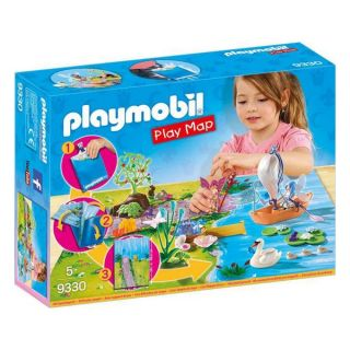 Playset Fairies Play Map Playmobil 9330 (29 pcs)