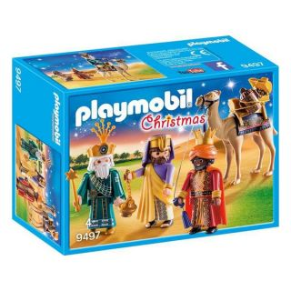 Playset Christmas Playmobil 9497 Reyes magos (13 Pcs)