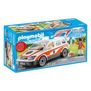 Playset City Life Emergency Car Playmobil 70050 (41 pcs)