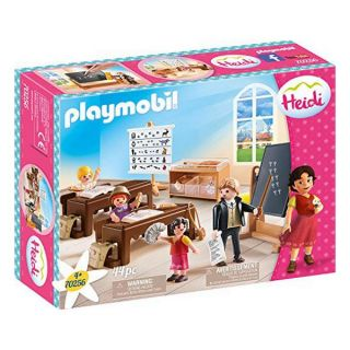 Playset City Life Class In Dörfli Playmobil 70256 (44 pcs)