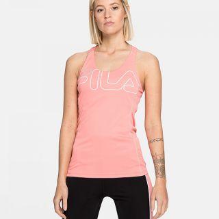 Camiseta de Tirantes Mujer Fila 683036.A449 Rosa Talla S