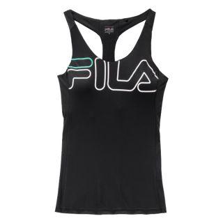 Camiseta de Tirantes Mujer Fila 683036.A449 Negro Talla S