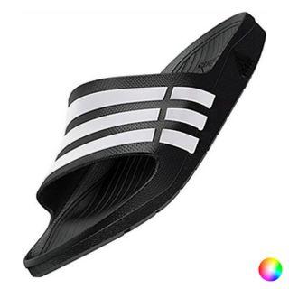 Chanclas para Hombre Adidas Duramo Slide (Talla uk) Color Blanco/Azul Talla Calzado 11