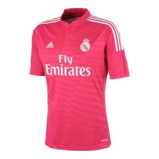 Camiseta de Fútbol de Manga Corta Hombre Adidas Real Madrid Rosa (2ª) (Talla l - us)