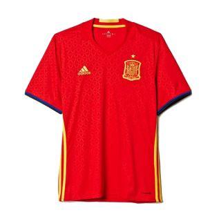 Camiseta de Fútbol de Manga Corta Hombre Adidas FEF España Talla XL