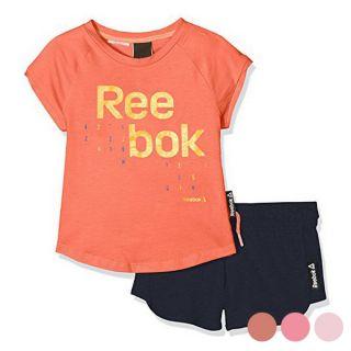Conjunto Deportivo para Niños Reebok G ES SS Color Rosa Talla 5-6 Años