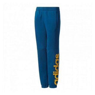 Pantalón de Chándal para Niños Adidas YB LIN Talla 12-13 Años