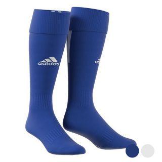 Medias de Fútbol para Adultos Adidas Santos Color Azul Talla Calzado 46-48