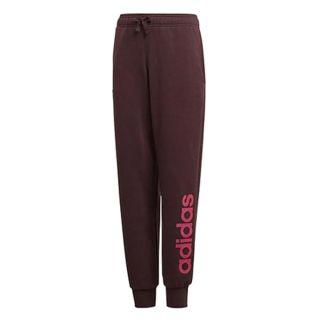 Pantalón de Chándal para Niños Adidas YG Linear Rojo (Talla 14-16 años eu - 170 uk)