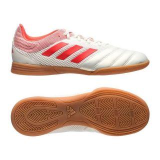 Zapatillas de Fútbol Sala para Niños Adidas Copa 19.3 In Blanco Rojo Talla Calzado 31 1/2