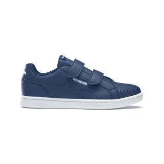 Zapatillas Casual Niño Reebok Royal Complete Clean Velcro Azul marino Talla Calzado 30,5