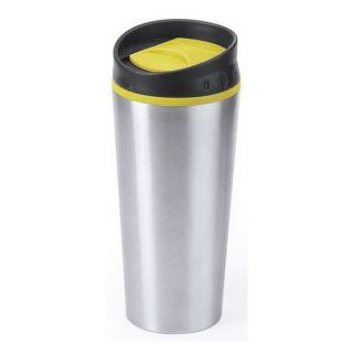 Vaso de Acero Inoxidable (500 ml) 145339 Color Amarillo