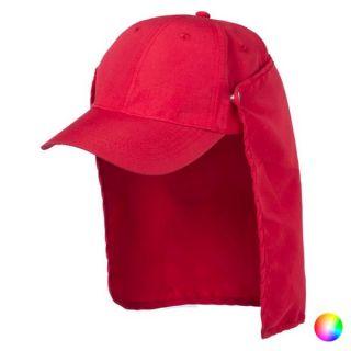 Gorra de Trekking con Protector para el Cuello 145464 Color Rojo