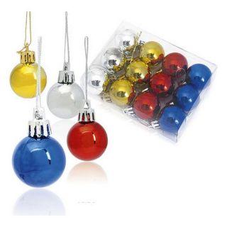 Bolas de Navidad (12 pcs) Metalizado 143360 Color Multicolor