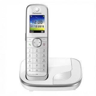 "Teléfono Inalámbrico Panasonic KX-TGJ310SPW DECT 1,8"" TFT GAP Blanco"