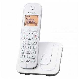 Teléfono Inalámbrico Panasonic Corp. KX-TGC210 Plateado