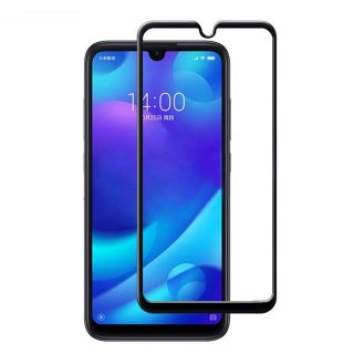 Xiaomi Mi Play Cristal Protector de Pantalla con Borde Negro