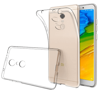 Redmi 5 Plus Funda Carcasa Transparente