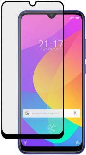 Xiaomi Mi 9 Lite Cristal Protector de Pantalla Border Negro