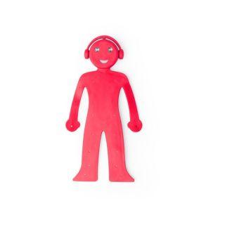 Lámpara Soporte Multiusos Flexible 144948 Color Rojo
