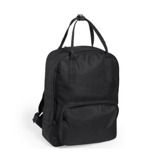 Mochila con Asa Superior y Compartimentos 145400 Color Negro