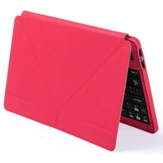 Teclado Bluetooth con Soporte para Tablet 145305 Rojo