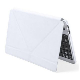 Teclado Bluetooth con Soporte para Tablet 145305 Blanco