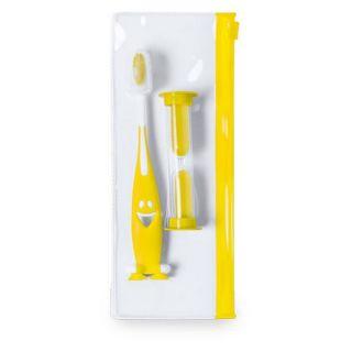 Set de Cuidado Bucal Infantil (3 pcs) 145032 Color Amarillo