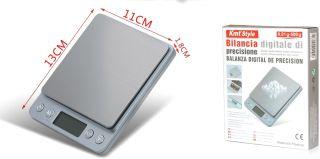 Báscula Electrónica Peso Gramo Bilancia Digitale Di Precisione 0.01 / 500G