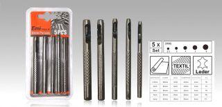 Perforadora de Banda Herramienta Precisión 5Pcs