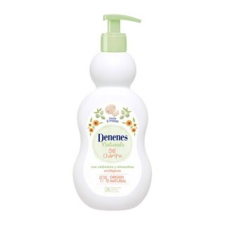 Gel y Champú 2 en 1 Natural Denenes (400 ml)