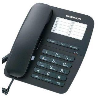 Teléfono Fijo Daewoo DTC-240 Negro