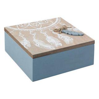 Caja Decorativa 114073 (15 x 6 x 15 cm)