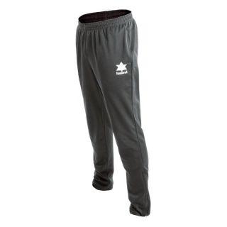 Pantalón de Chándal para Adultos Luanvi Lagos Antracita Talla 4XS