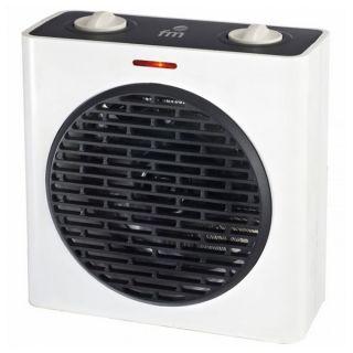 Calefactor Vertical Grupo FM T-20 2000W Blanco