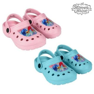 Zuecos de Playa Shimmer and Shine 73832 Color Azul Talla Calzado 29