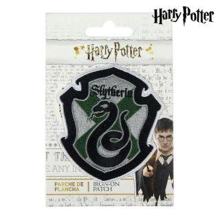 Parche Slytherin Harry Potter Verde Gris Poliéster
