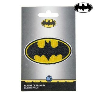 Parche Batman Amarillo Negro Poliéster